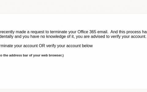 Phishing Alert March 15
